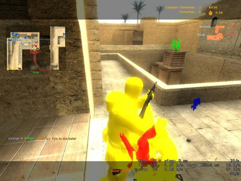 CSS WallHack Chams [SOH] v1.2 - Чит для Counter-Strike Source